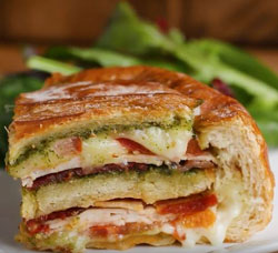 Turkey Pesto Panini Bowl